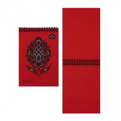 Блокнот для пастели А5 (140*200) 30л 160г/м2 дв спир Лилия Холдинг Premium Red БРr-6235 красный