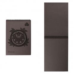 Блокнот для пастели А4 (210*297) 30л 160г/м2 дв спир Лилия Холдинг Premium БРr4/А коричневый