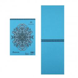 Блокнот для пастели А4 (210*297) 30л 160г/м2 дв спир Лилия Холдинг Premium Cloudy sky БРr-8284 облачное небо