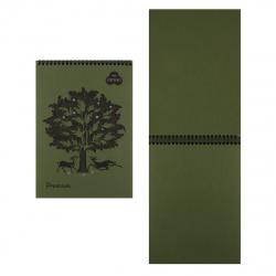 Блокнот для пастели А4 (210*297) 30л 160г/м2 дв спир Лилия Холдинг Premium Dark jungle БPr4/DJ темные джунгли