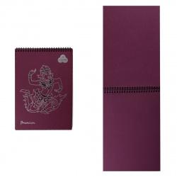 Блокнот для пастели А4 (210*297) 30л 160г/м2 дв спир Лилия Холдинг Premium БРr4/Bb ежевичный