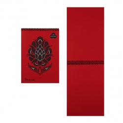 Блокнот для пастели А4 (210*297) 30л 160г/м2 дв спир Лилия Холдинг Premium Red БРr-6259 красный