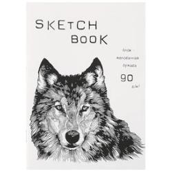 Блокнот для эскизов/скетчбук А5 40л 90г/м2 Listoff Sketchbook 2835