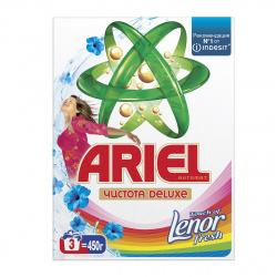 Порошок Ариель автомат 450гр Touch of Lenor Fresh