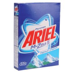 Порошок Ариель 450гр Горный родник