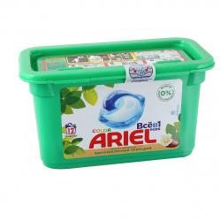 Гель автомат Ариель в растворимых капсулах 12*23,8г масло ши