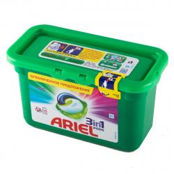 Гель автомат Ариель в растворимых капсулах 13*24,2г для чувствительной кожи 81722918