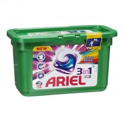 Гель автомат Ариель в растворимых капсулах 12*27г ассорти 81686416