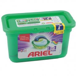 Гель автомат Ариель в растворимых капсулах 12*27г Color 81669908