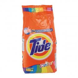 Порошок Tide автомат, для цветного белья, полиэтиленовый пакет, 9кг Color 81722962