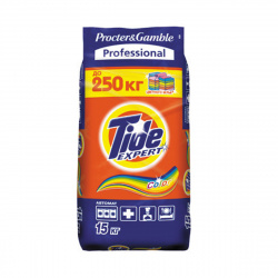 Порошок Tide автомат, для цветного белья, полиэтиленовый пакет, 15кг Color 81697628