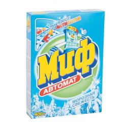 Порошок Миф автомат, для всех типов белья, картонная коробка, 400гр Морозная свежесть 81696272