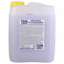Жидкое мыло антибактериальное HELP 5л