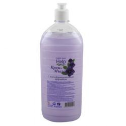 Жидкое мыло антибактериальное HELP флип-топ 1л