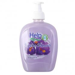 Жидкое мыло антибактериальное HELP 500мл с курком 5-0370