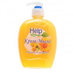 Жидкое мыло HELP 500мл Ромашка с курком 5-0354