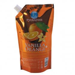 Жидкое мыло туалетное, фруктовая, антибактериальный эффект, дой-пак, 500мл Апельсин Ваниль Русалочка 436770
