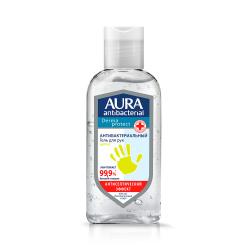 Гель для рук гель, антибактериальный эффект, 100мл Цитрус AURA 10566
