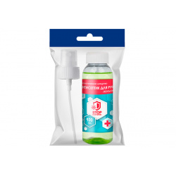 Антисептическое средство для обработки рук ласьон, антибактериальный эффект, 100мл Avikomp