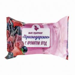 Мыло туалетное Краснодарское с ароматом ягод 100гр
