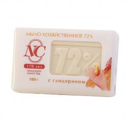 Мыло хозяйственное 72% с глицерином,180гр 11145