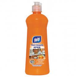Чистящий крем HELP  600мл Апельсин 4-0363