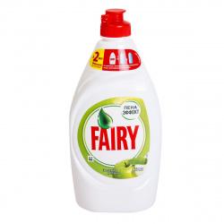 Средство для мытья посуды Fairy гель, 450мл Зеленое яблоко 81751379