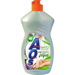 Средство для мытья посуды АОС 450 мл Фитокомплекс 7 трав
