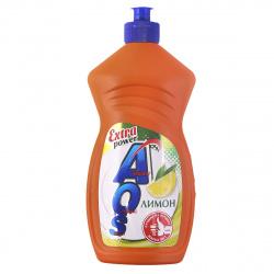 Средство для мытья посуды AOS бальзам, 450мл Лимон