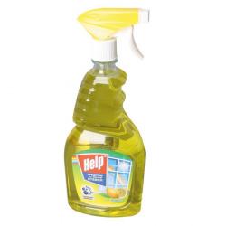 Моющее средство HELP для окон с курком 750мл Лимон 1-0335