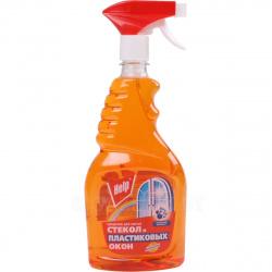 Моющее средство HELP для стекол и пластиковых окон 750мл Апельсин 1-0336