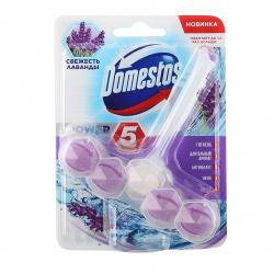 Освежитель для туалета Domestos 55гр Сила 5 ассорти