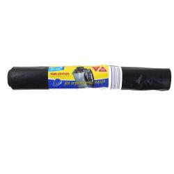 Мешки для мусора 90*140 280л 45мкм Русалочка(10шт/рул) 432949 черные