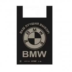 "Пакет майка  40*60 ПНД ""BMW"" 136575"