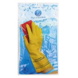 Перчатки  резиновые Русалочка S 070246