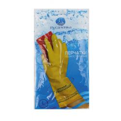 Перчатки  резиновые Русалочка L 070260