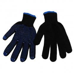 Перчатки  толстые х/б (5-ти нитка) черные