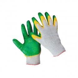Перчатки ХБ 2-х обливные,ЛЮКС,13-класс