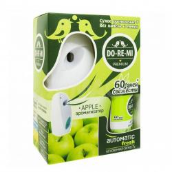 ДО-РЕ-МИ комплект автоматический спрей  250мл Премиум Зеленое яблоко