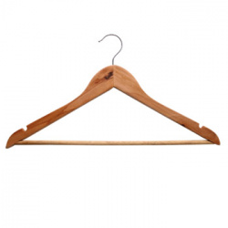 Вешалка  для одежды деревянная (44х22х1,2 см.) 067500
