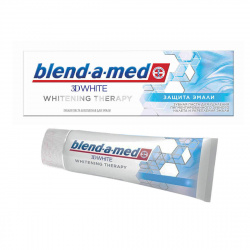 Зубная паста BLEND_A_MED 3D White Whitening Therapy Защита Эмали 75мл 81668949