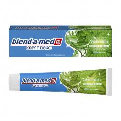 Зубная паста BLEND_A_MED комплекс с ополаск Свежесть трав Мята и чабрец 100мл 81710135