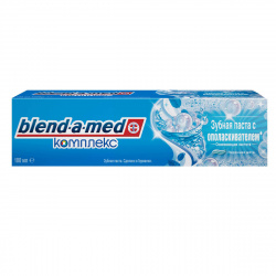 Зубная паста BLEND_A_MED комплекс с ополаскивателем Перечная мята 100мл