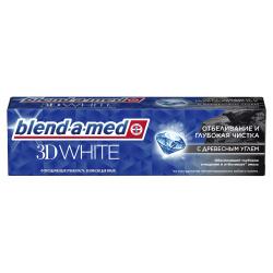 Зубная паста BLEND_A_MED 3D White  отбел и глубокая очист С Древесным углем  100мл