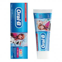 Зубная паста ORAL_B Kids для детей Легкий вкус Frozen/Cars 75мл, 1шт Procter & Gamble 81697808