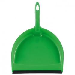 Совок для мусора CORAL пластик, 31х22х7см, резиновая вставка York 061090