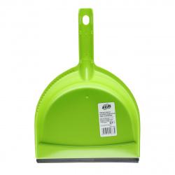 Совок для мусора АЗУР ассорти, 32*22*6см, резиновая вставка York 061110