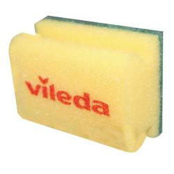 Губка Виледа 9,5*7(зеленый абразив)108697/2759