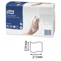 ТОРК Xpress® Multifold UNIVERSAL полотенца 2 слойные, Z-сл, (21,3см*109сл ) 471103