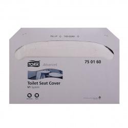 ТОРК бумажные покрытия на унитаз (250шт) 750160